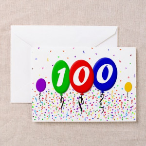 100th Birthday Decorations Quotes Kootationcom Picture