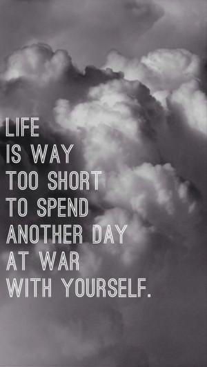 iPhone 5 wallpaper quote