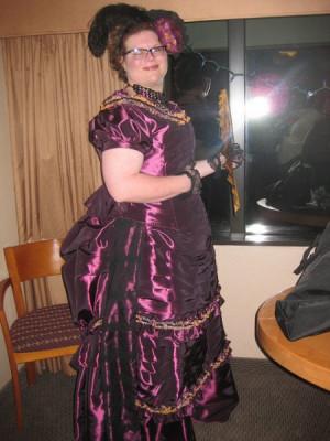 Hobson 39 s purple ballgown 2