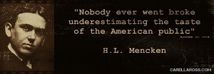 share an image of this quote mencken quote on politics