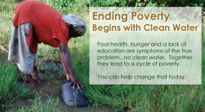 Water & Health Water & Education Water & Hunger Water & Poverty