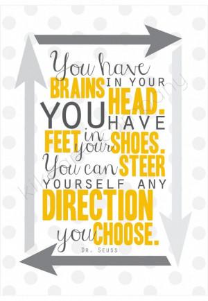 ... Quotes, Dr. Seuss, Brain, Head Printable, Quotes Printables, Quotes