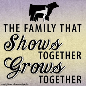 The family that shows together, grows together! #stockshowlife # ...