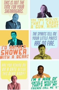... psych quotes, friends, funni quot, character quotes, psych pineapple