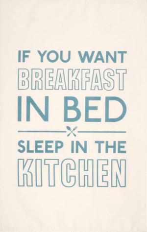 funny breakfast in bed