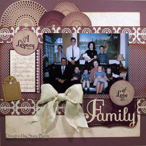 Legacy of Love Family layout *Quick Quotes*