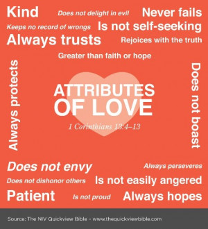 Bible Verses about Love using Agape