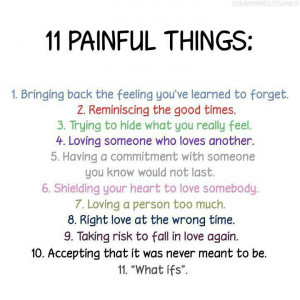 Sad Life Quotes : 11 painful things