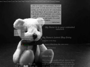 Searched for Teddy Bears Love Quotes MySpace Layouts