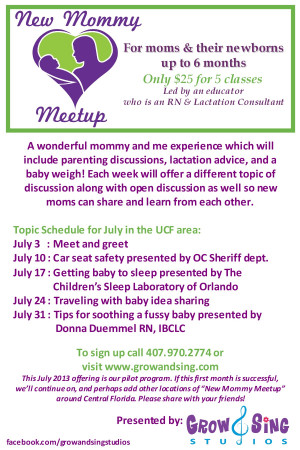Mommy And Me Quotes Mommy meetup flyer