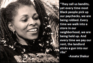 Quotes Black Panthers ~ Former Black Panther Assata Shakur Added to ...