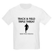TOP Track And Field Kids Light T Shirt For
