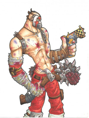 Borderlands 2 Psycho Krieg Quotes Krieg, the psycho by