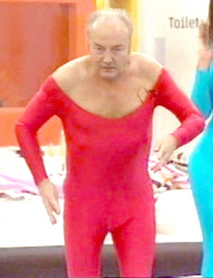 George Galloway left dazed and bruised as he's hit by rubber stress ...