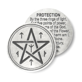 ... Penczak Spell Charms Coins Prosperity Healing Protection Love Wicca