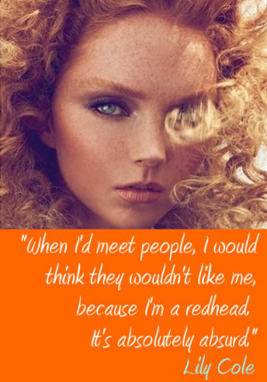 Famous Redheads on what it's like to be a redhead
