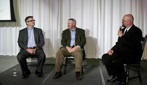 ... Mayor Sam Adams, Mayor Mike McGinn, and Executive Editor Alex Steffen