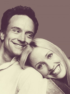 Bradley Whitford and Janel Moloney. | Randomosity