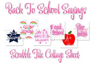 Back to school sayings