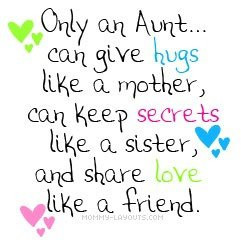 aunt quotes. love my niece and nephews to pieces