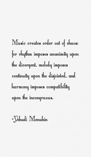 Yehudi Menuhin Quotes & Sayings