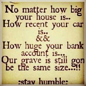 Stay Humble Quotes