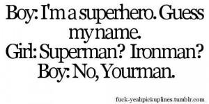 cute, love, quotes, superhero, superman, text