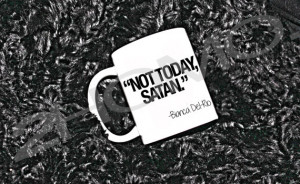 Not Today Satan - RPDR Bianca Del Rio personalised mug. LGBT gift ...