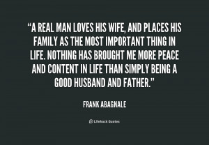 Real Man Quotes for His Wife