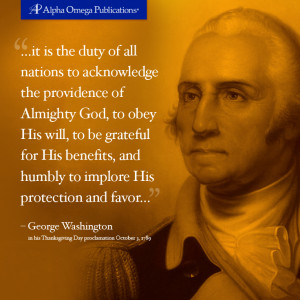Read the first Thanksgiving Day proclamation made by George Washington ...
