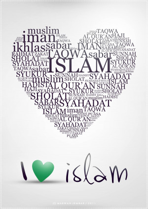 Muslim Quotes About Love And Peace: Islam Is About Iman Ikhsan ...