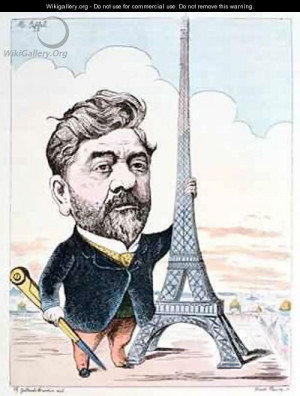 ... Gustave-Eiffel-1832-1923-with-his-best-known-construction-the-Eiffel