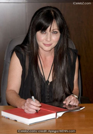 Shannen Doherty signs copies of her new book 'Badass' at Barnes