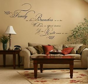 ... Family-Quote-Sticker-Vinyl-Wall-Art-Decal-Mural-Bedroom-Kitchen-Lounge