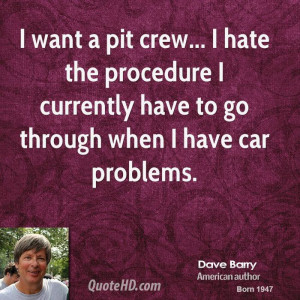 Dave Barry Car Quotes