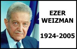 Quotes by Ezer Weizman