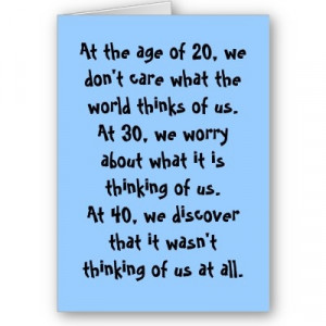 Quotes on turning 40