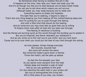 Beautiful pain - eminem. This is my favorite part!