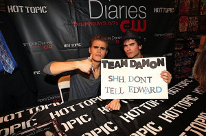 ... nina dobrev engaged , ian somerhalder and paul wesley best friends