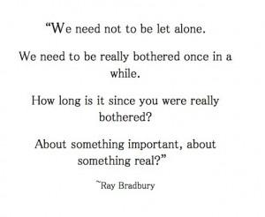 Ray Bradbury, argument