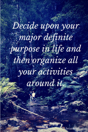 What is your life purpose? What do you want to achieve?