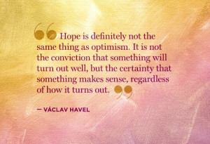 Václav Havel quote - insightful