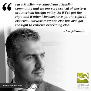 The Freedom of Speech & Islam - Maajid Nawaz