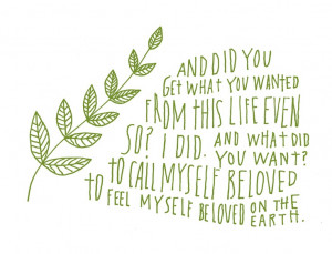 Raymond Carver Poem