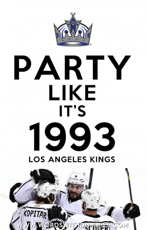 Los Angeles Kings Western Conference Champions