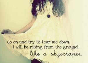 Skyscraper Lyrics #demilovato #lyrics Demi Lovato