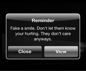 love, no one cares, quotes, reminder, sad