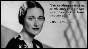Wallis Simpson Quotes (Images)