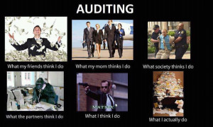 auditing different people different thinking