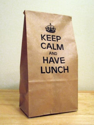 Keep Calm and Have Lunch